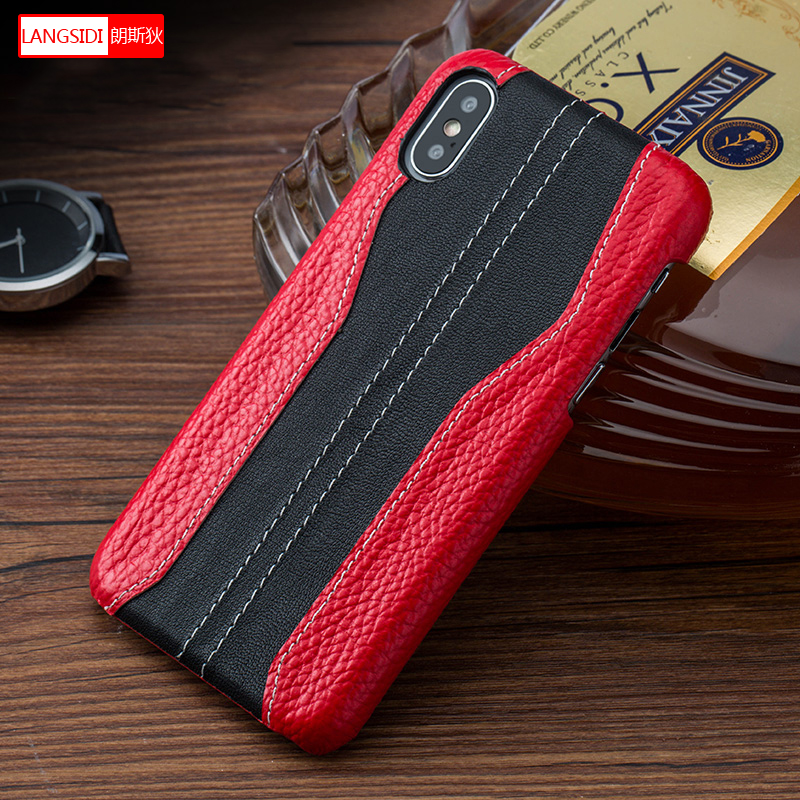 De lujo de empalme caja del teléfono de la moda para el iphone 6plus caso X XS X XSmax XR 6 7 8 plus para los hombres y las mujeres protección Anti-caída cubierta