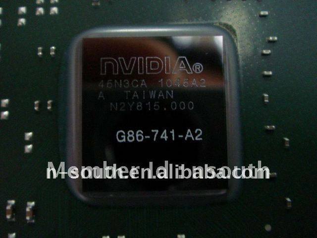 laptop graphic card nvidia chip NVIDIA ic chips BGA Chipset Laptop motherboard chips G86-741-A2