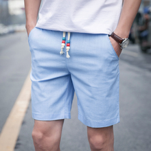 2017 Summer fashion men shorts , Solid color large size Leisure mens shorts ,Summer style Loose breathable Men shorts travel 4XL