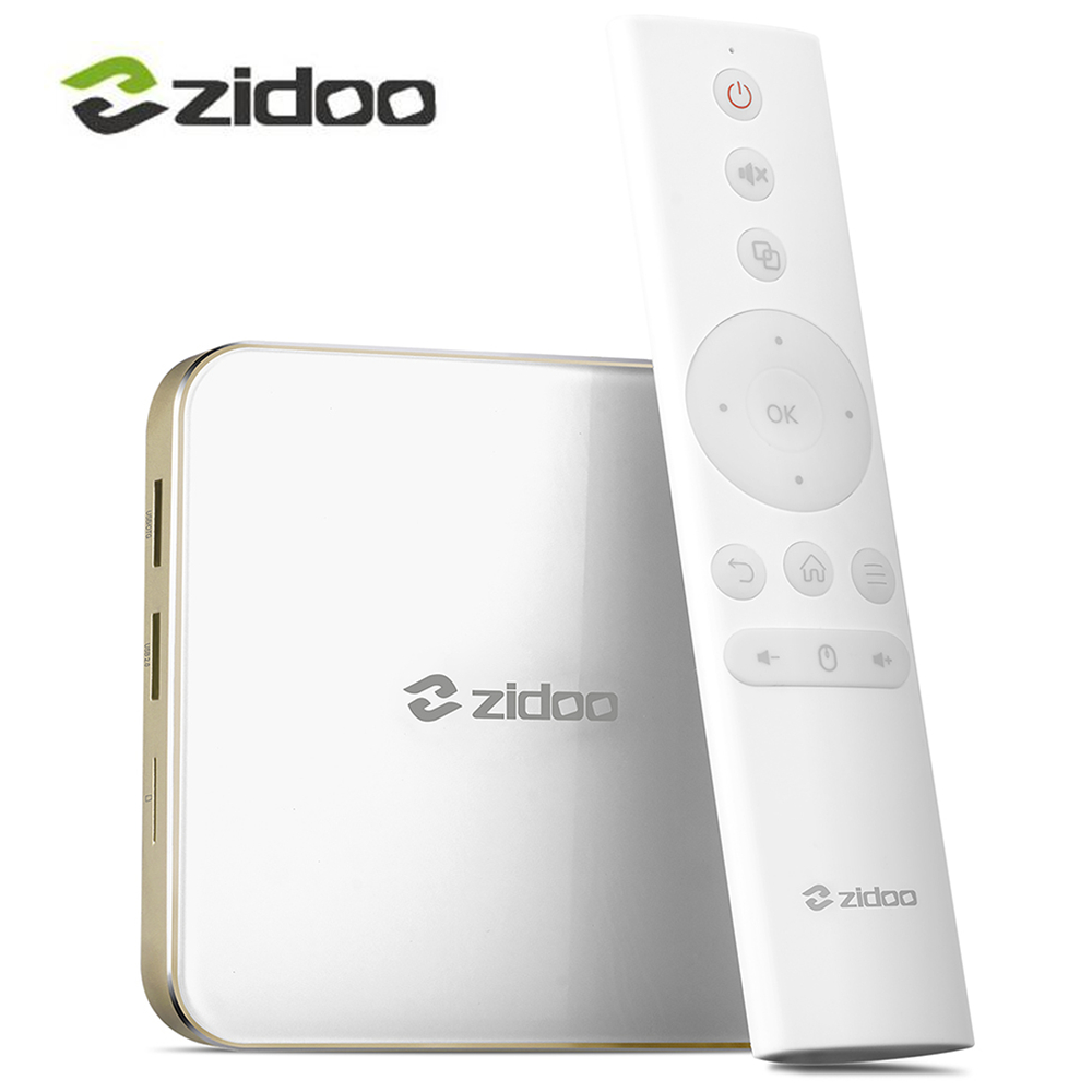 Zidoo H6 Pro AllWinner H6 Android 7.0 TV Box 2GB DDR4 16GB eMMC Quad Core Set Top Box 2.4G WiFi BT4.1 1000M 4k Media Player allwinner h6 android 7 0 zidoo h6 pro tv box ddr4 2gb emmc 16gb ac 4k 10bit hdr wifi 1000m lan dolby digital dts hd smartcolo