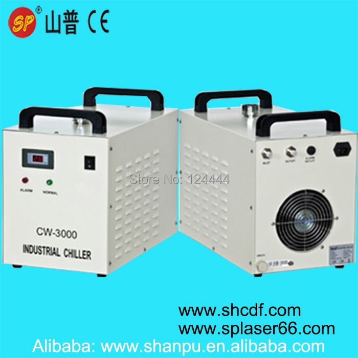 CO2 laser water chiller CW-3000DG   110V  50/60Hz co2 laser cutting machine industry water cooling machine cw 5200dg 110v 60hz 150w 2 laser head laser chiller