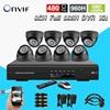 8ch CCTV Surveillance System 8pcs 480TVL IR Night Vision Cameras 8 Channel Full D1 DVR Recorder
