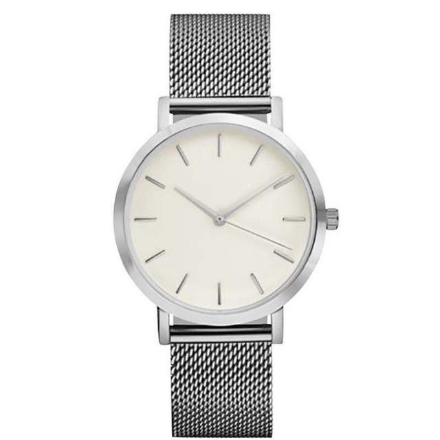 Lady Luxury Mesh Band Bracelet Watch
