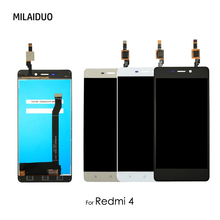 LCD Display For Xiaomi Redmi 4 Standard 2GB RAM 16GB Touch Screen Digitizer LCD For Redmi 4 Prime Assembly Replacement 5.0 inch 14 inch geniue replacement for hp envy 4 touchsmart 4 1126tu tcp14e53 v1 0 14 touch screen digitizer glass