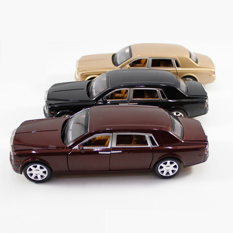 124-Car-Model-Rolls-Royce-Phantom-Lengthened-Cohes-Diecast-Alloy-Sixdoor-model-Light-Models-High-Simulation-Toy-Gift-Collection-2
