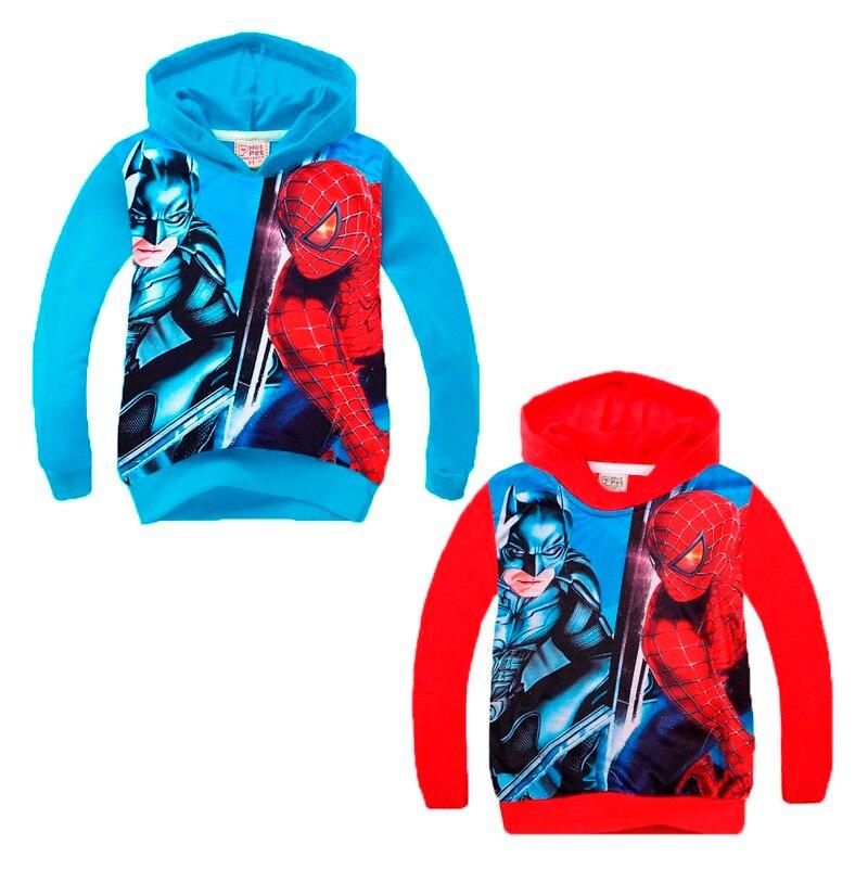 toddler boy coats 2016 new spring autumn spiderman boys toddler coat cartoon anime long sleeve toddler hooded coat boy outerwear