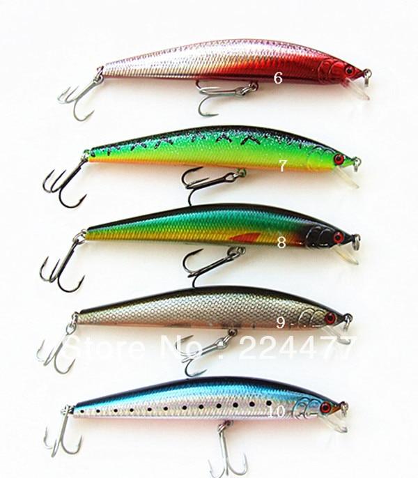 """29g / 15cm pakaba dešimt spalvų """"Minnow"""" žvejybos jaukų - Žvejyba"""
