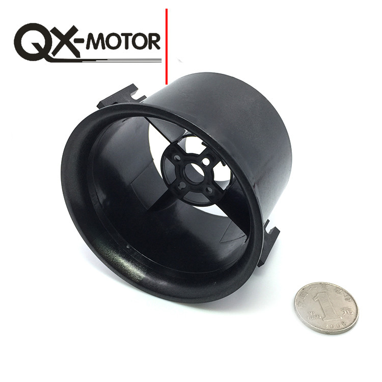 US $2 66 26% OFF|QX MOTOR 70mm 6 Paddle Ducted Fan Propeller With Ducted  Barrel Brushless Motor Fan for RC Drone Accessories Quadcopter F22151-in