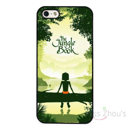 For iphone 4/4s 5/5s 5c SE 6/6s 7 plus ipod touch 4/5/6 back skins mobile cellphone cases cover The Jungle Book