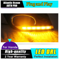 JGRT DRL For Civic LED Daytime Running Light For Civic 2012 14 Guide LED DRL Car