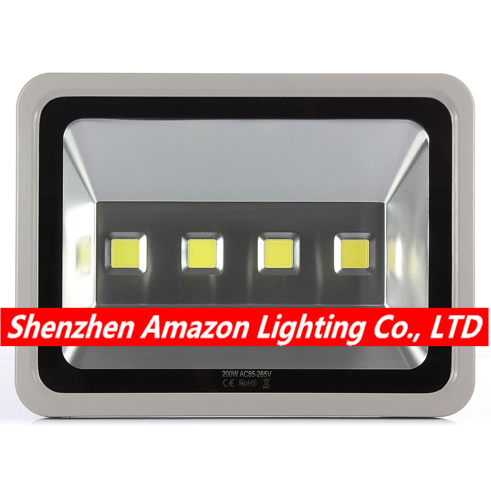 4pcs 200W Led Flood light AC85-265V Warm White/Natural White/Cool White Waterproof Spotlight Led Floodlight Outdoor lighting super waterproof led flood light 100w warm white cool white outdoor lighting led spotlight ac 100 265v free shipping led lamp