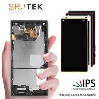 4.6'' Original Display For SONY Xperia Z5 Compact LCD Touch Screen with Frame for SONY XPERIA Z5 Compact LCD Z5 mini E5823 E5803