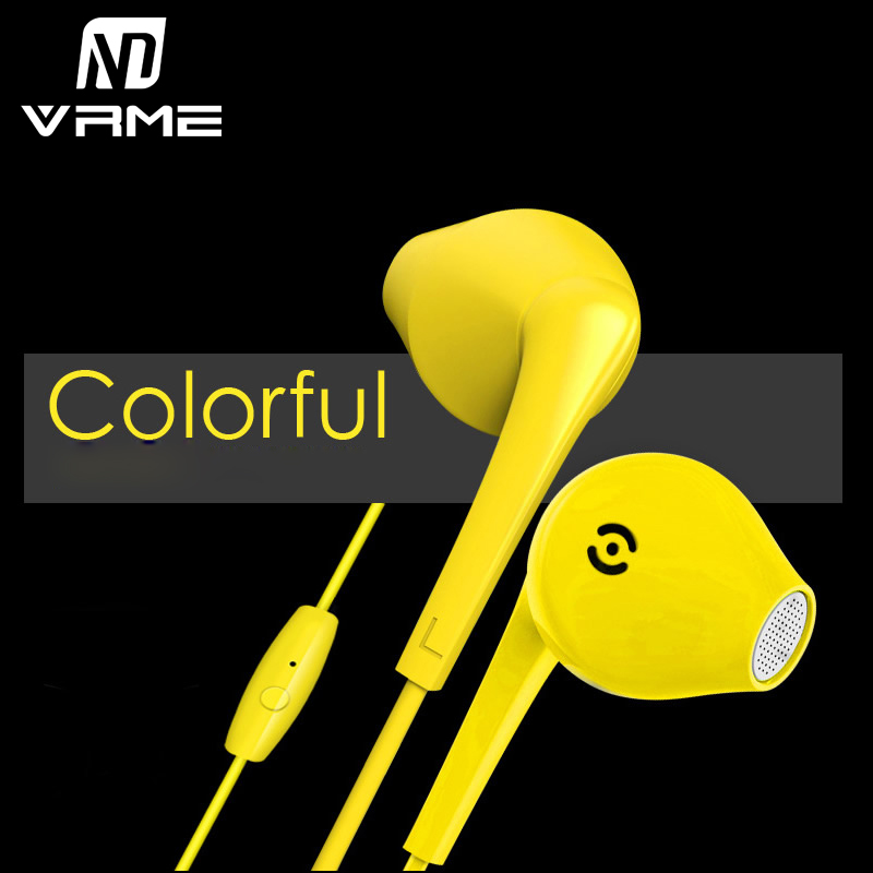 Vrme Wired Headphone Professional Music Headset Bass Stereo Sound Earphone Noise Cancelling with Mic for iPhone 7 Xiaomi Sumsung alto saxophone new eb selmer silver alto saxophone plated brass musical instruments professional saxophone alto sax e flat