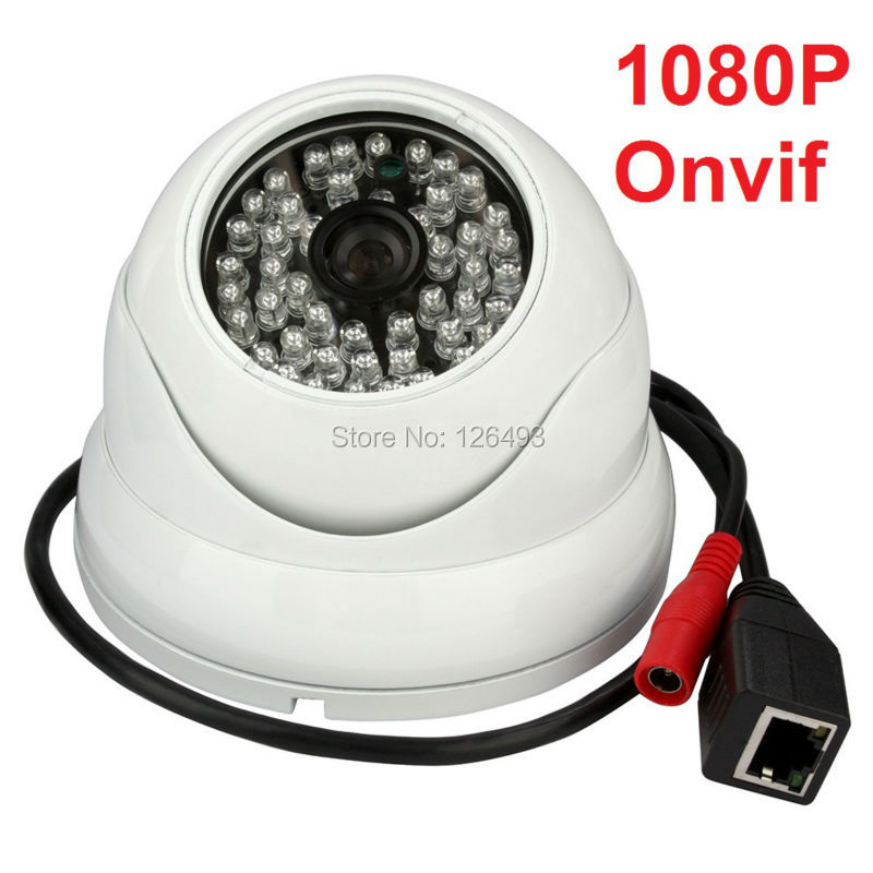 Outdoor waterproof 2.0 megapixel 1080P IR LED IN-CEILING 1080P poe dome ip  camera with snapshot function outdoor waterproof white metal case 1080p bullet poe ip camera with ir led for day