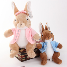 Kawaii, Plush Toys, Baby Toys Lovely Genuine Peter Rabbit Doll Plush Toys Free Shipping Tv & Movie Character Cotton