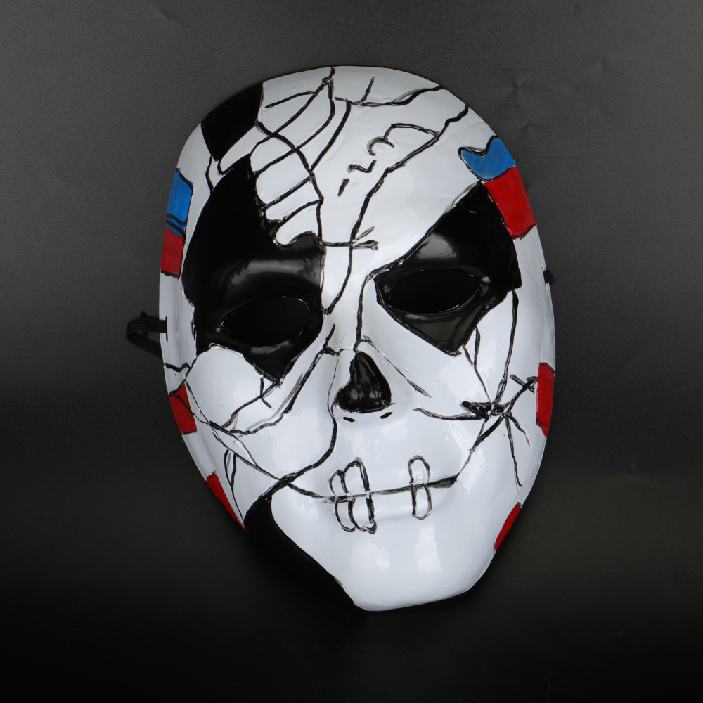 The Punisher 2 Billy Russo Cosplay Mask Plastic Costume Props Halloween Masquerad Mask Unisex Adult Coser  (2)