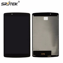 Srjtek 8″ For LG G Pad F 8.0 V495 V496 LCD Display Matrix Touch Screen Digitizer Panel Sensor Glass Tablet Assembly Replacement
