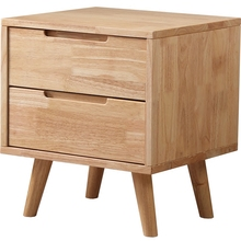 Solid wood Nordic simple modern log walnut storage cabinets