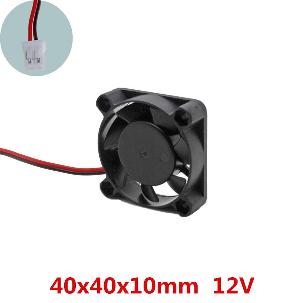 3 pcs/lot 40x40x10mm 4010 ventilateurs 12 volts sans brosse DC ventilateur de refroidissement pour radiateur refroidisseur refroidissement radiateur dissipation thermique