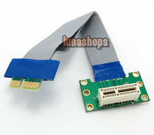 15cm Flex Ribbon Express PCI-E 1x Male to Female 90 Degree Riser card Extender Cable