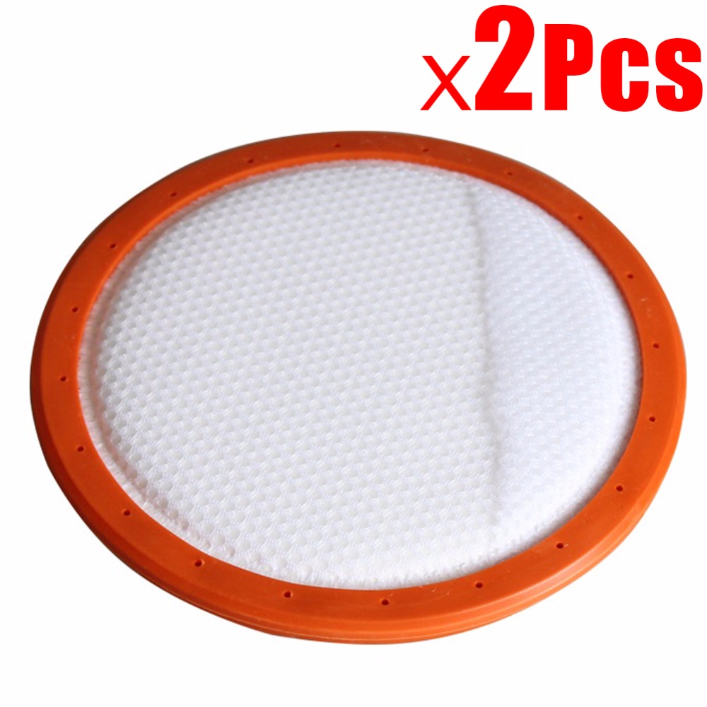 2Pcs 146mm Washable Vacuum Cleaner Filter Round HV Filter Cotton Filter Elements  HEPA For Midea C3-L148B C3-L143B VC14A1-VC