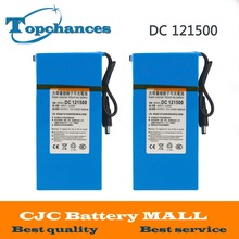 High Quality 2PCS DC 12V Strong 15000MAH Powerful Rechargeable Backup Li-ion Battery  For CCTV Camera Wireless Transmitter