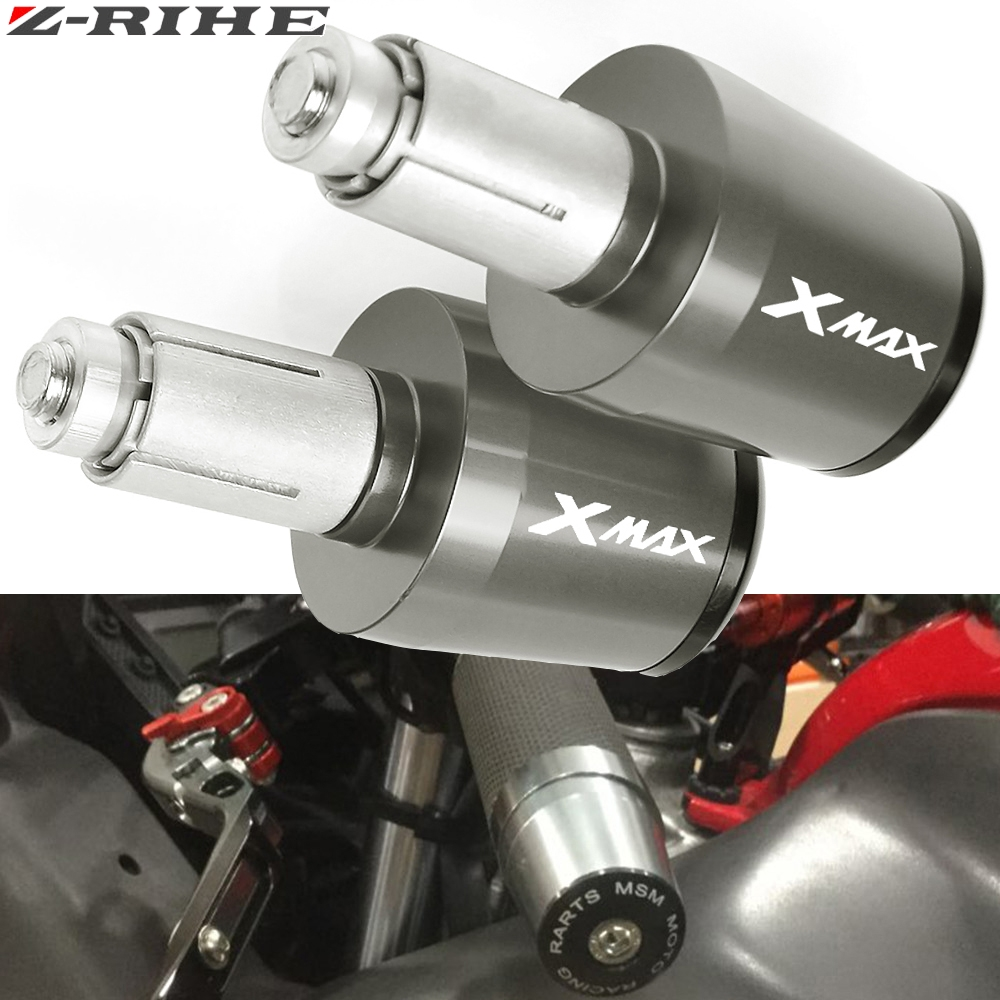 22mm Moto Extr/émit/és du Guidon en Aluminium Poign/ée de Guidon Embouts pour Suzuki V-Strom V Strom DL650 DL1000 Rouge