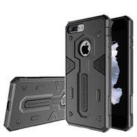 5.5 pouce Nillkin Defenderserie cas pour iphone 7 plus le cas couverture en plastique dur + TPU protecteur de couverture arrière pour iphone 7 plus cas