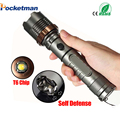 3800lm CREE XM-L T6 5modes LED Tactical Flashlight Torch Waterproof Hunting Flash Light Lantern zaklamp taschenlampe torcia zk35