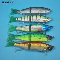 5colors 54g/16.5cm Hard lure offshore angling lure Segmented soft tail bionic fish fishing lure fishing tackle