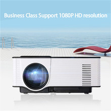 Mini Projector 1080P HD 1500 lumens 55W 800 * 480 100-240V Home Theater HDMI USB Video LED LCD high brightness, energy saving