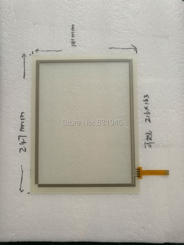 NEW TOUCHSENSOR 247*191 12.1 -inch 4line change the 8line resistive touchscreen 247mm*191mm for industry applications