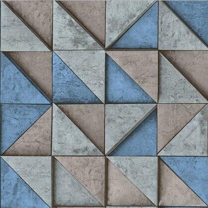 Moderna geometrica del triangolo 3d carta da parati nuovo for Carta da parati moderna in 3d