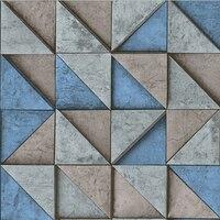 Modern Geometric Triangle 3D Wallpaper