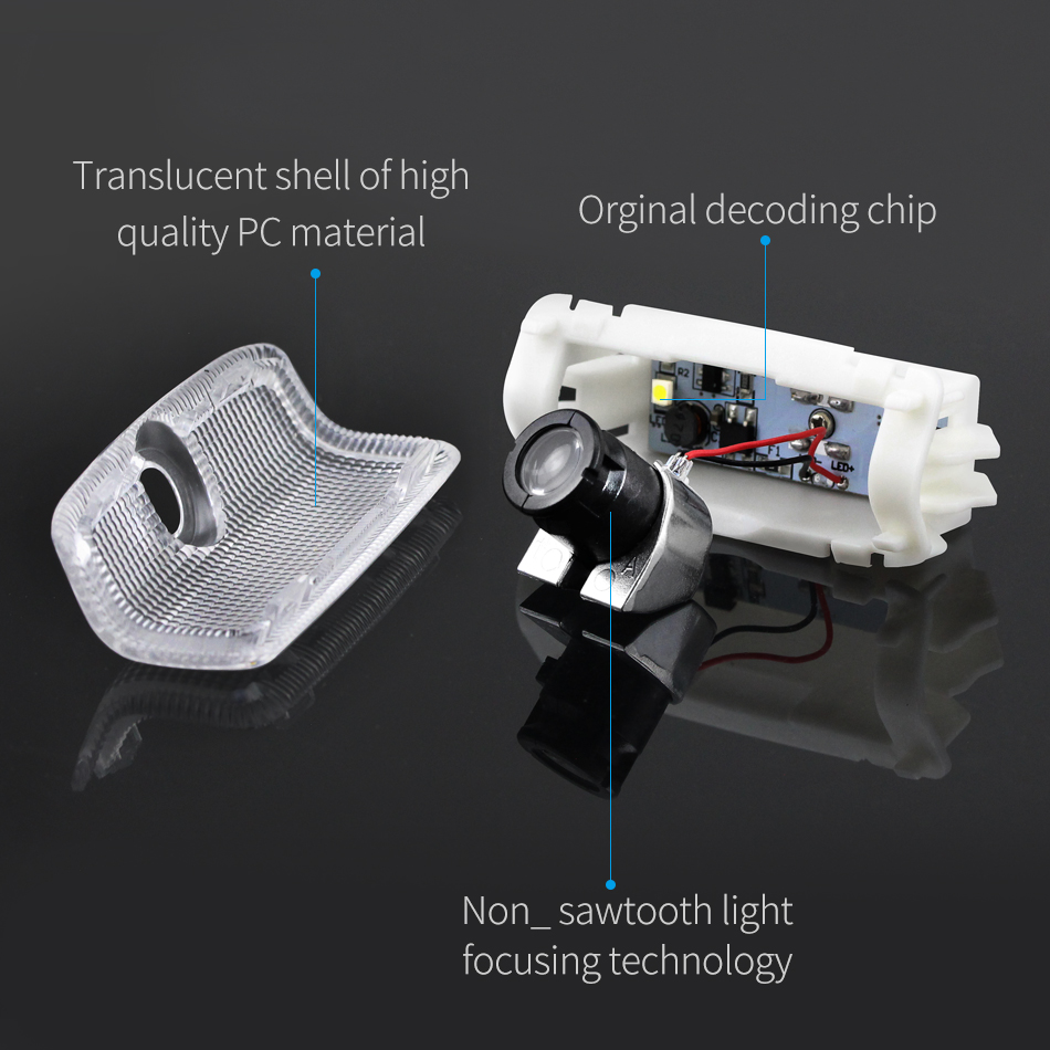 DXZ 2PCS Car LED Door Logo Projector Ghost Shadow Light for Infiniti fx35 fx37 f50 g35 g37 qx56 qx60 q50 ex35 in Decorative Lamp from Automobiles Motorcycles