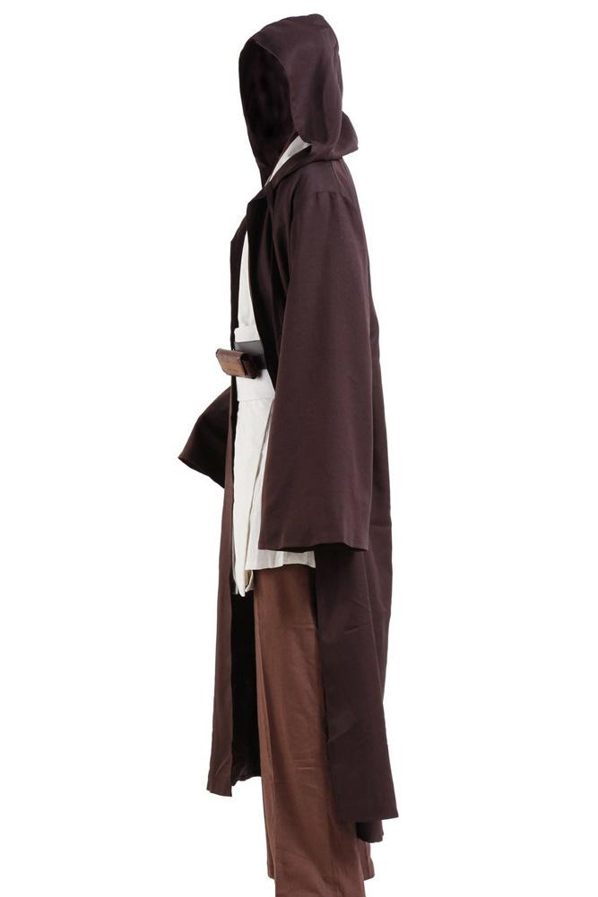 Star Obi Wan Jedi Robe Obi Wan Kenobi Tunic Cloak Halloween Carnival Cosplay Costume For Adult Men full set|cosplay costume|costumes for adultsjedi robe - AliExpress