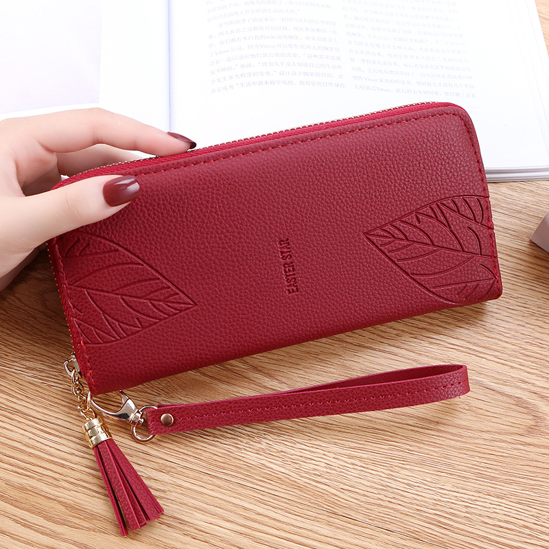 3b0c385ac663a US $3.37 25% OFF Womens Wallets and Purses PU Leather Wallet Femal  Red/pink/black/gray Long Women Purse Large Capacity Bag Women's Wallet-in  Wallets ...