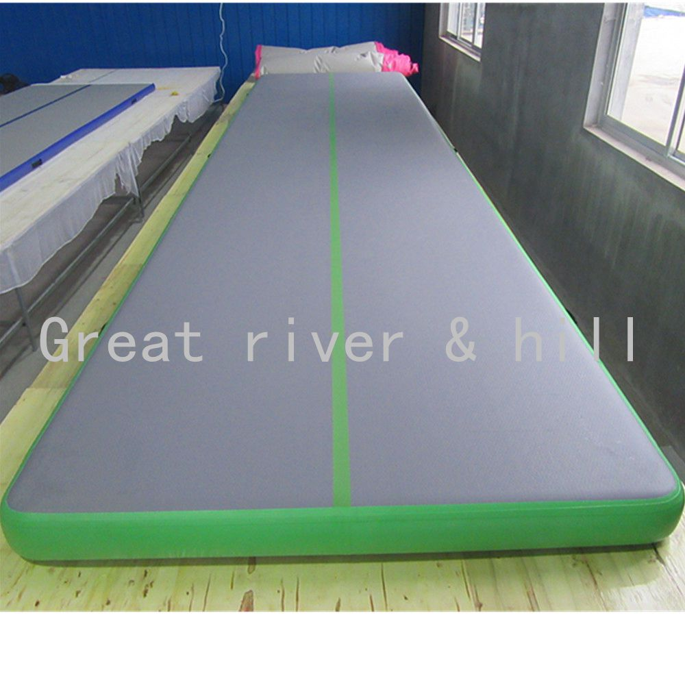 mat itm tracks inflatable track gymnastics mats tumbling air floor
