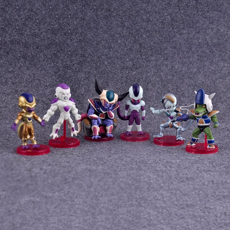 Dragon Ball Z Freeza Action Figure 6pcs/set
