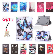 Universal 10.1 inch Cartoon Pu Leather Stand Case For Asus MeMO Pad 10 ME102K ME