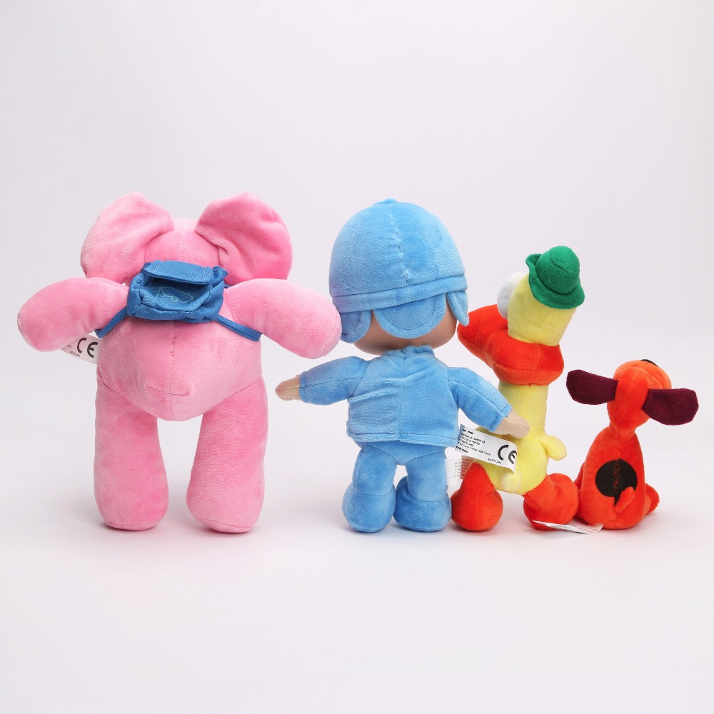 4pcslot-12-26cm-Full-Set-POCOYO-Cartoon-Stuffed-Animals-Plush-Toys-Hobbies-Loula-Elly-Pato-POCOYO-plush-toy-2