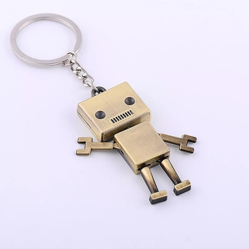 Movable Wrench Keyrings Creative Men DIY Key Chain Pendant Clothing Accessories