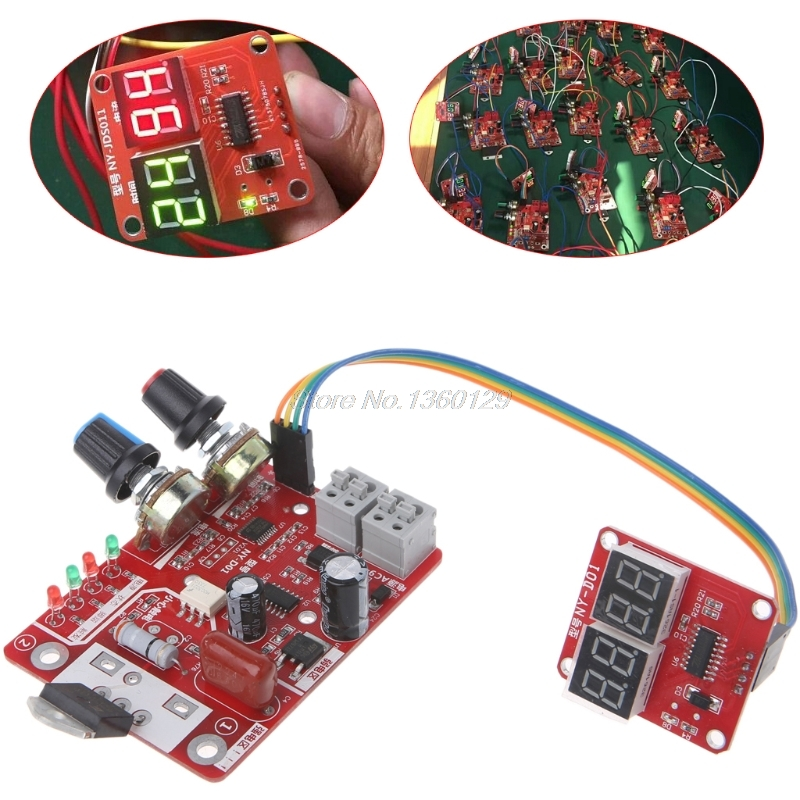 Spot Welder Time Control Board 40A Current Controller With Digital Display Wholesale&DropShip