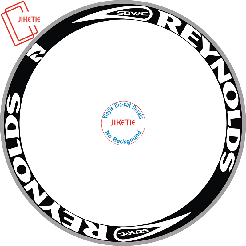 8 pièces 2 Roues/ensemble De Roues De 700c Jante Autocollants Vélo Autocollants Vélo Stickers Roue Autocollants Vélo De Route Volant stickers