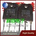 Frete Grátis 20 PCS amplificador de áudio no tubo C5198 A1941 2SC5198 2SA1941 de 1.5 YF0913