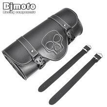 Bjmoto Universal Motorcycle Saddlebag Luggage Bag Storage Tool bag For Harley Davidson Motor Pannier side saddle