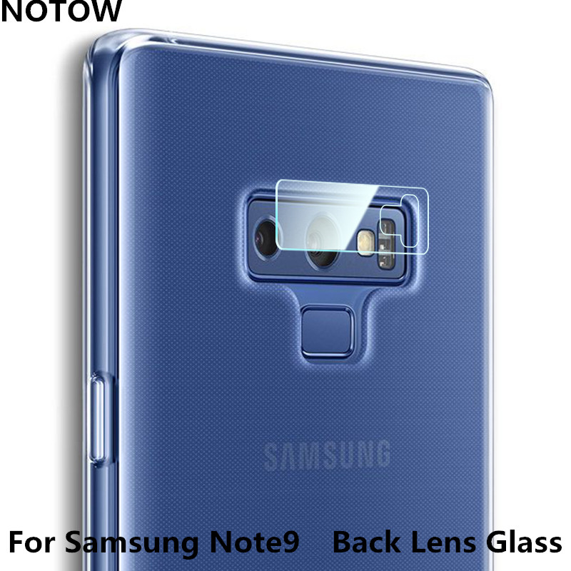 NOTOW 7.5H Flexible Rear Transparent Back Camera Lens Tempered Glass Film Protector Case For Samsung Galaxy  Note 9