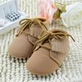 Bebé Primero Andadores Niñas Mocasines Zapatos Niño Bebé Recién Nacido Marrón/Rosa Disponible