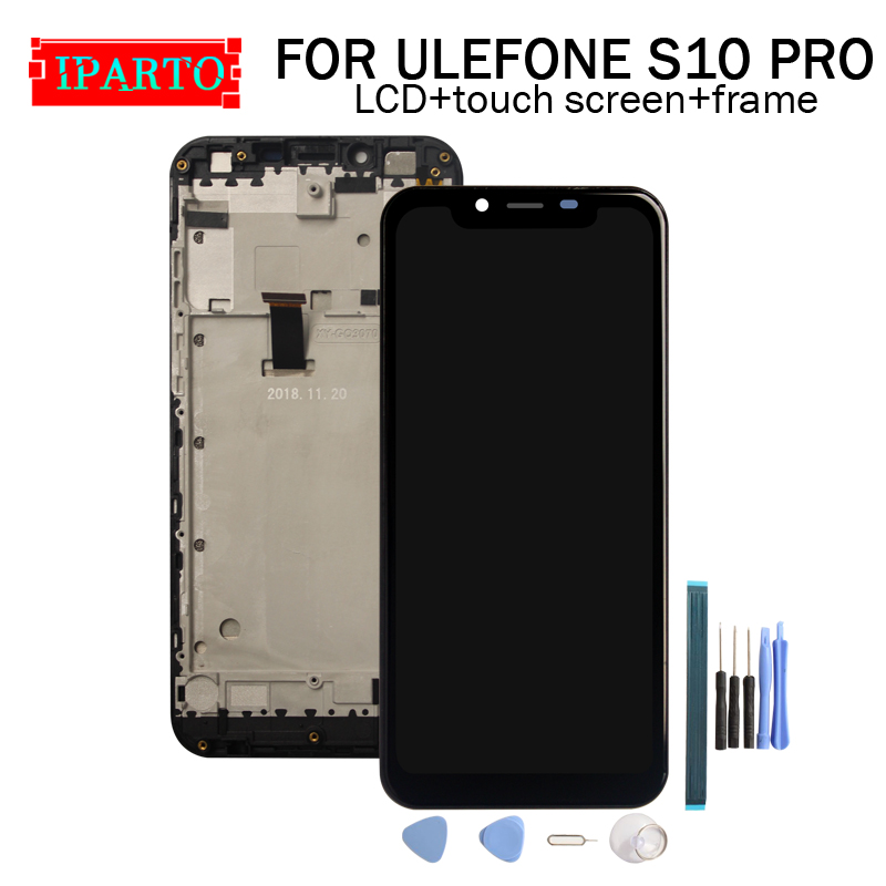 ULEFONE S10 PRO LCD Display Touch Screen Digitizer Frame Assembly 100 Original New LCD Touch Digitizer