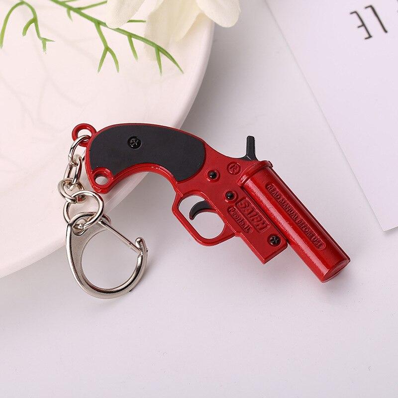 Signal Pistol Keychain  (1)